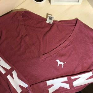 PINK Oversized Logo Thermal